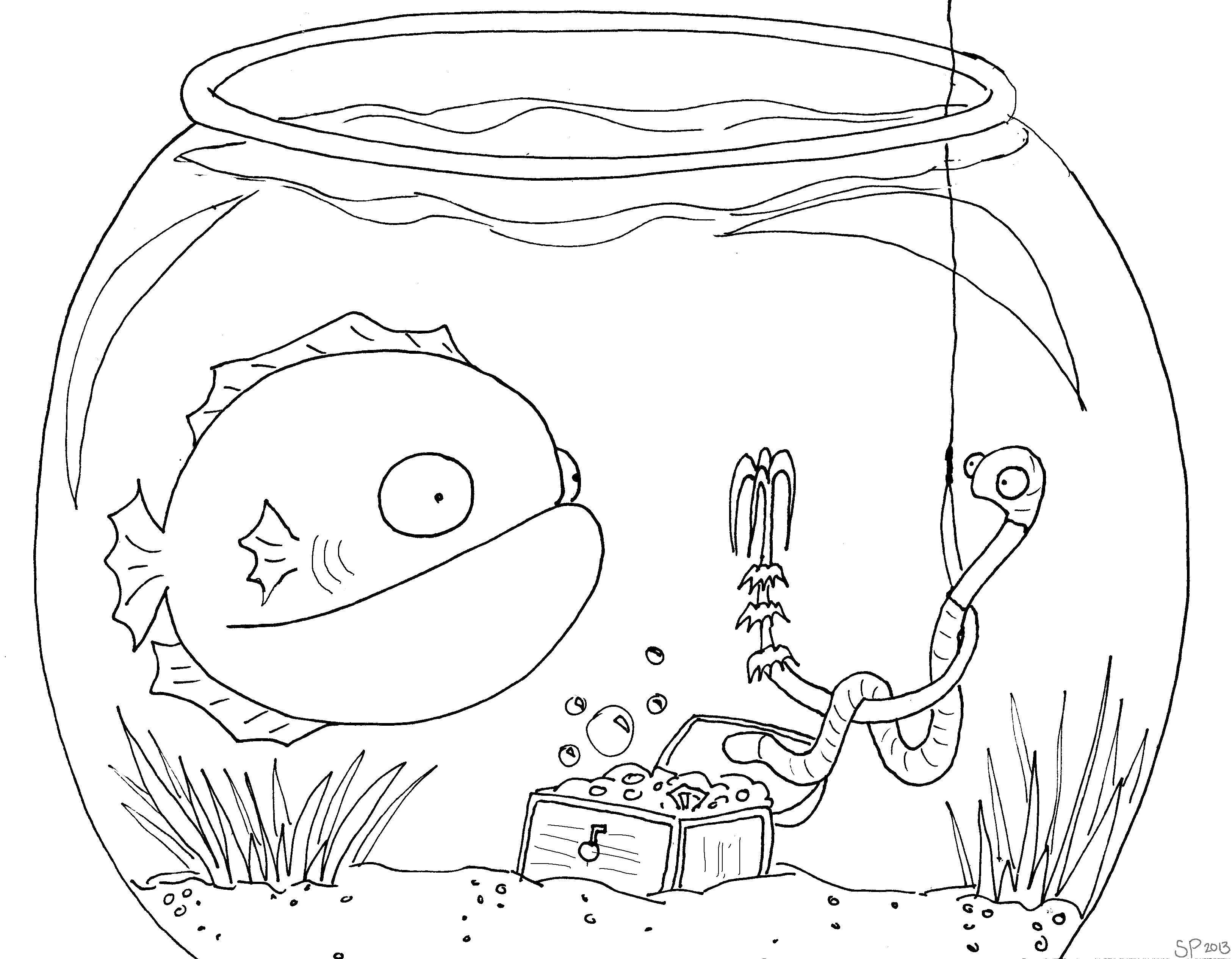 Раскраски Раскраска Малыш нэмо морские обитатели, скачать ...