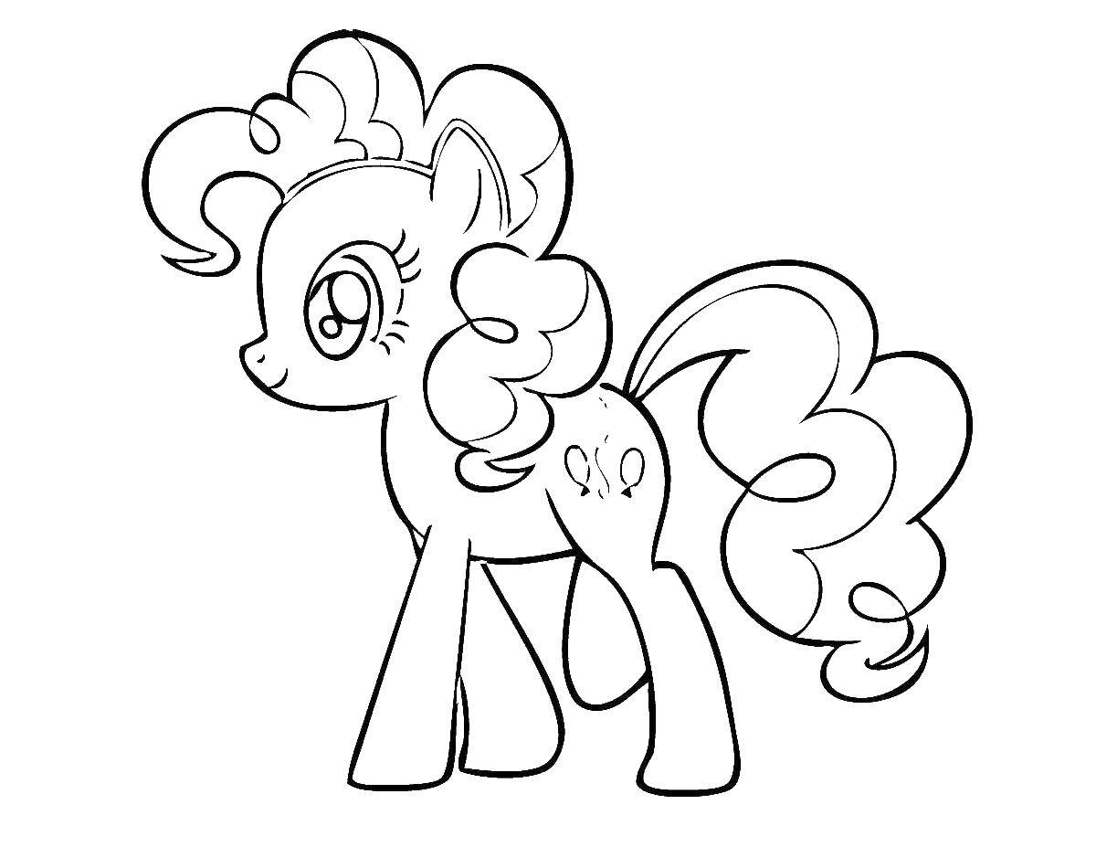 Coloring sheet my little pony Download Nature, forest, mountains, palm,.  Print