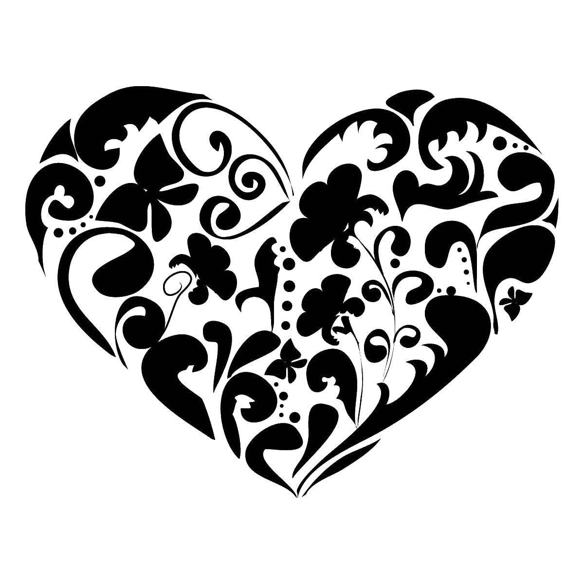 бюгельной рисовать картинки сердечки с узорами михайлов стал