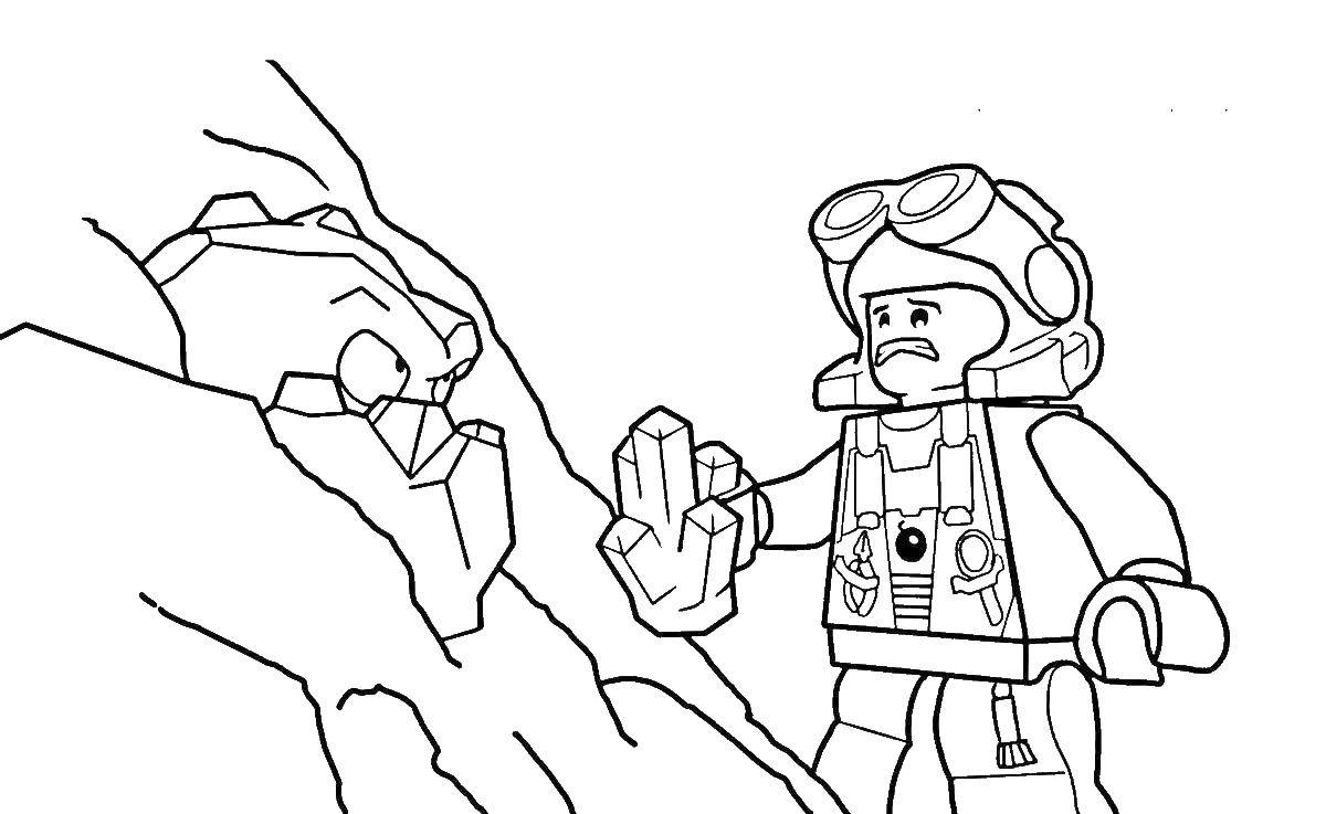 Coloring sheet LEGO Download .  Print