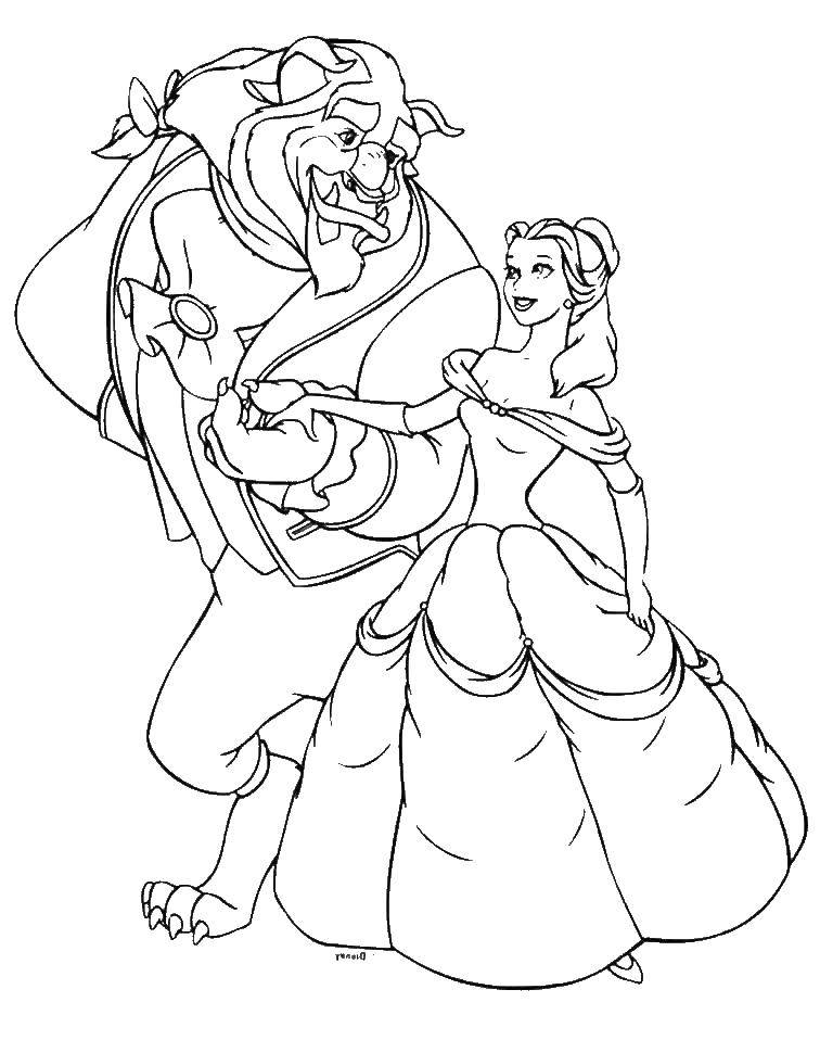 Coloring sheet Princess Download .  Print