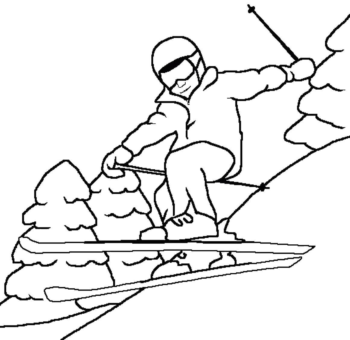 Coloring sheet sport Download .  Print