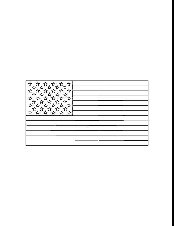 Coloring sheet USA Download .  Print