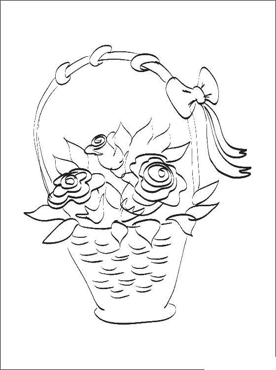 Coloring Pages Of Amazing Flowers - Coloring Home | 750x560