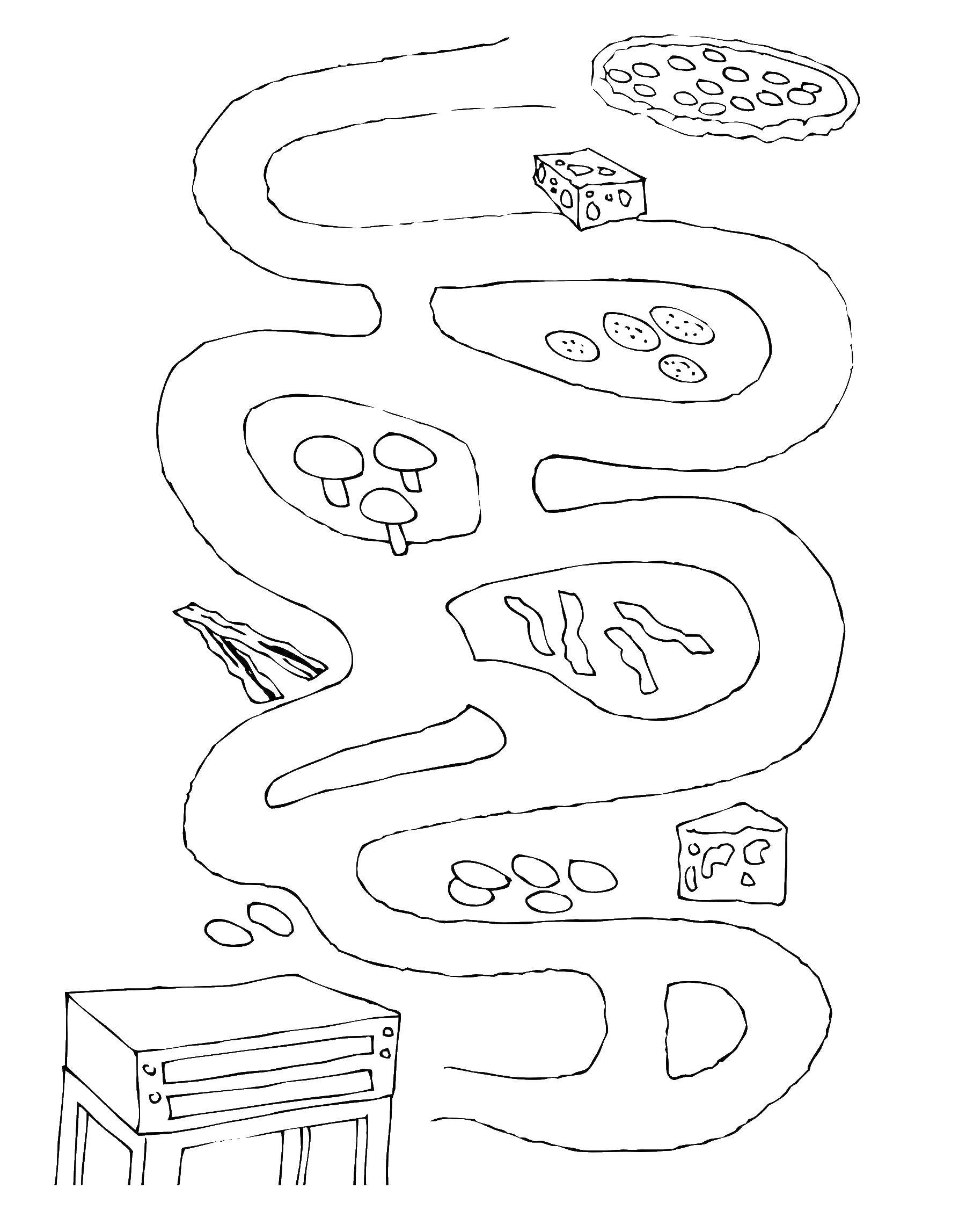 Coloring sheet mazes Download School supplies.  Print ,school supplies,
