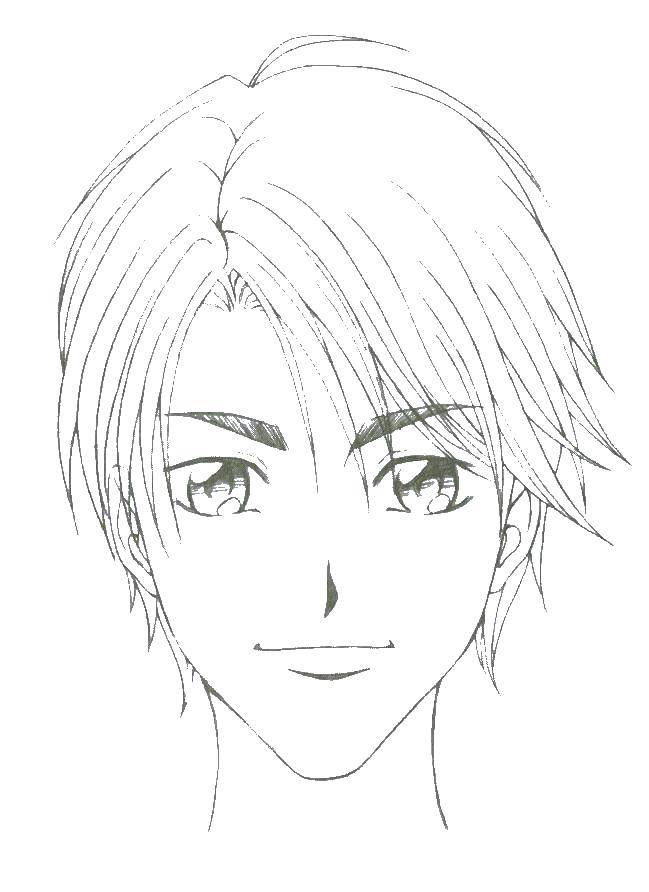 Раскраска аниме лица Скачать ,аниме, рисуем, тело, лицо,.  Распечатать