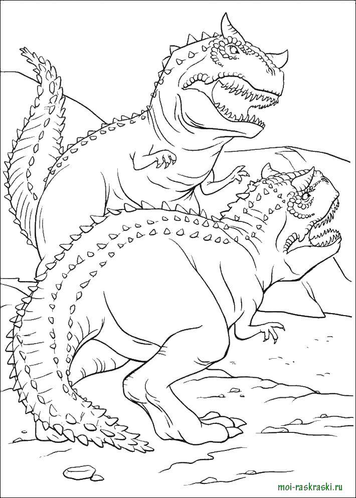 Coloring sheet dinosaur Download Hidden object.  Print ,Find items,