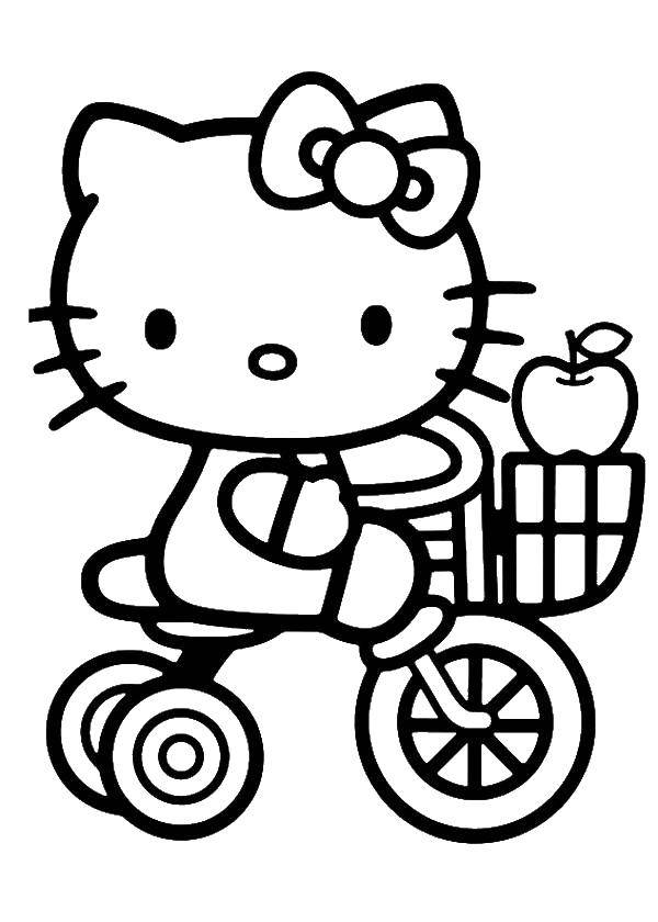 Tricycle Toys Black And White Lineart Drawing Illustration. Hand Drawn Coloring  Pages Lineart Illustration In Black And White Stock Illustration -  Illustration of girl, toddler: 174997057 | 840x600