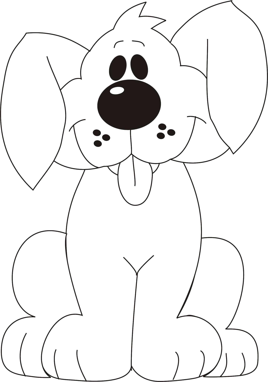 Раскраски ошейник, Раскраска Щенок с ошейником собаки щенки.