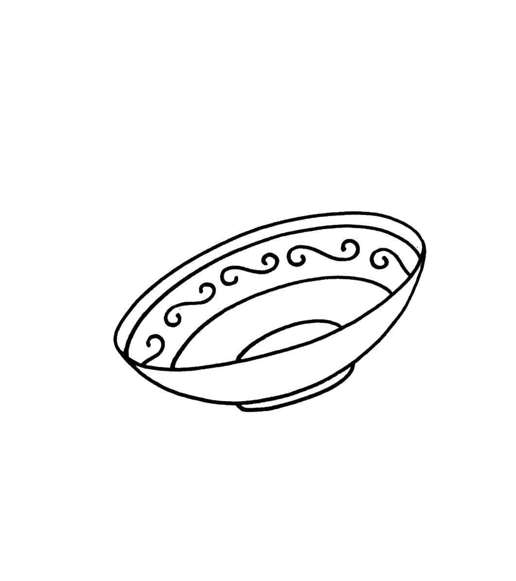 рисунки и картинки тарелок пятна