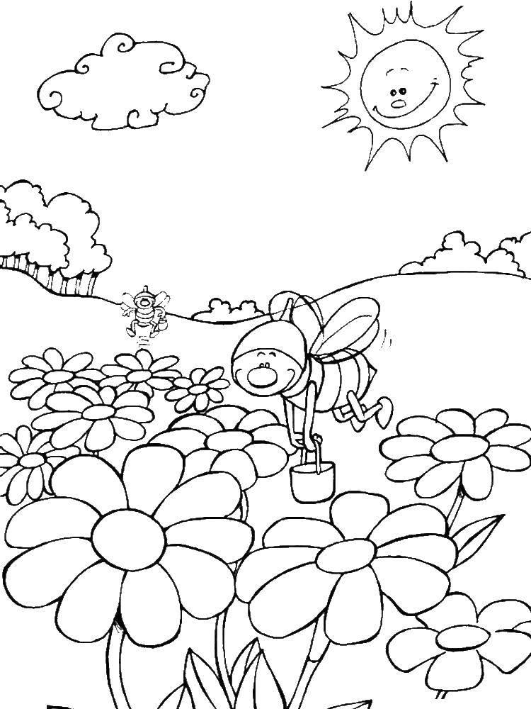 распечатать картинки про лето детям желаю отличного настроения