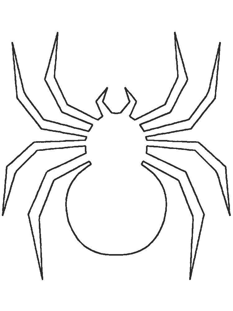 Раскраска раскраски пауки Скачать ,Комиксы, Спайдермэн, Человек Паук,.  Распечатать