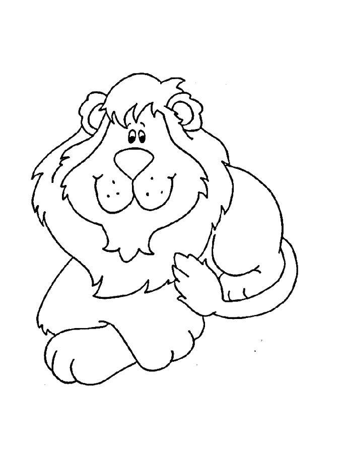 Coloring sheet Leo Download .  Print