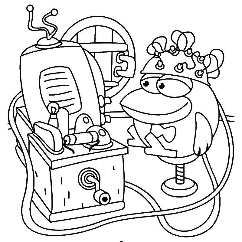 Coloring sheet cartoons Download .  Print