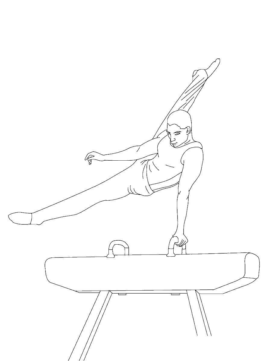 Раскраска Олимпиада Скачать баскетбол.  Распечатать