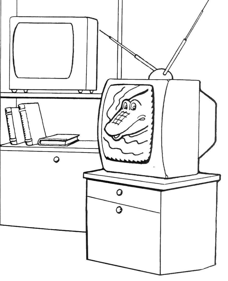 Coloring sheet TV Download Cook, food.  Print ,Kitchen,