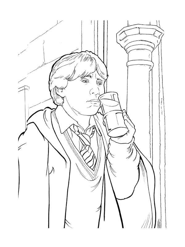 Coloring sheet Harry Potter Download .  Print