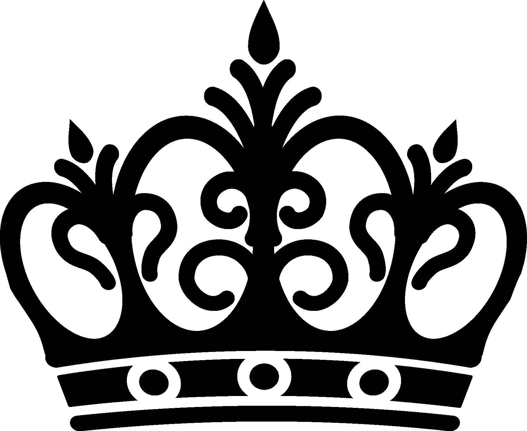 Картинки короны контур