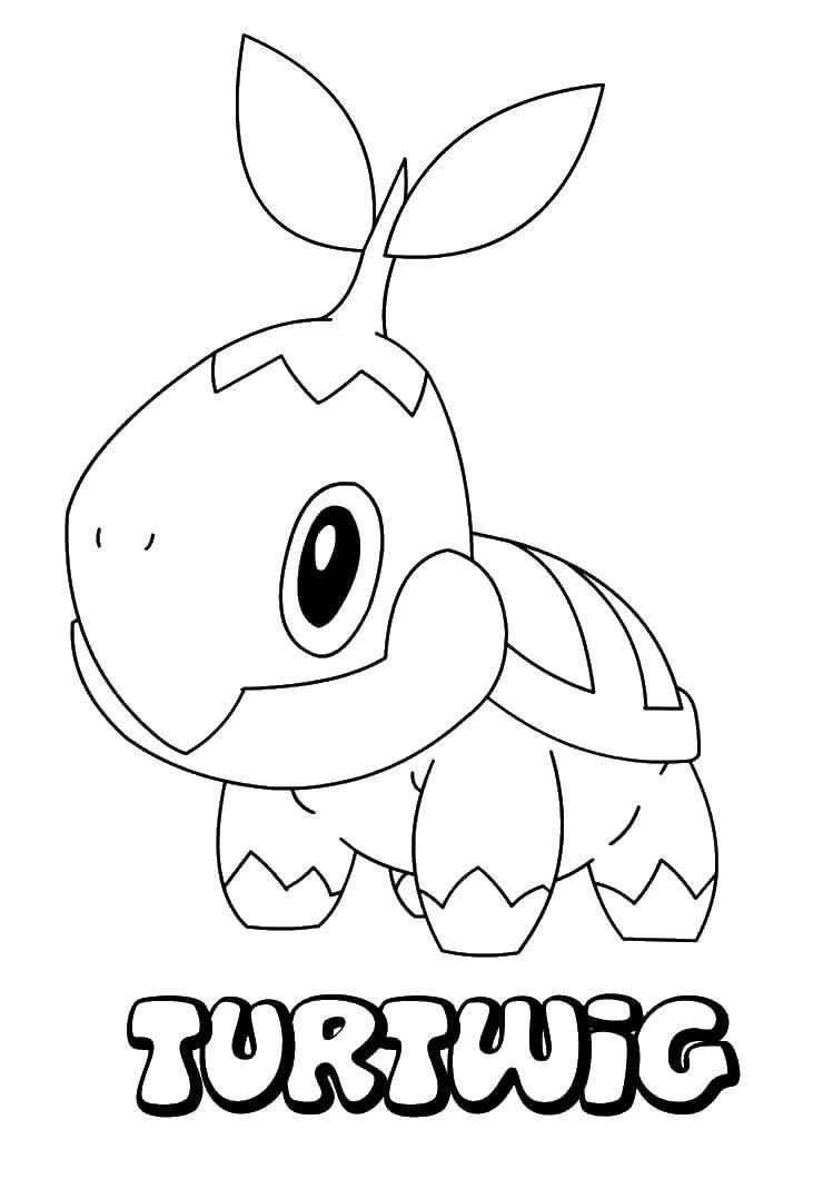 Раскраски покемон, Раскраска Покемон пидгеот покемоны.
