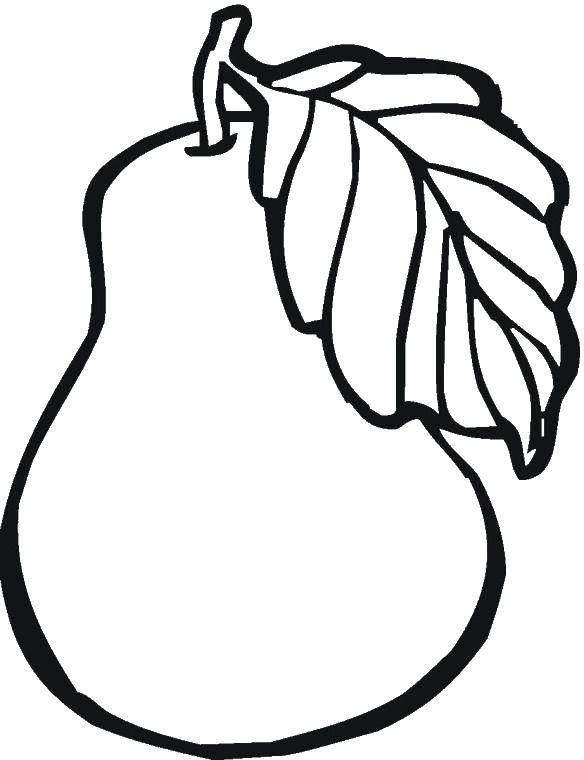 Раскраски Раскраска Фрукты ягоды фрукты, Раскраски ...