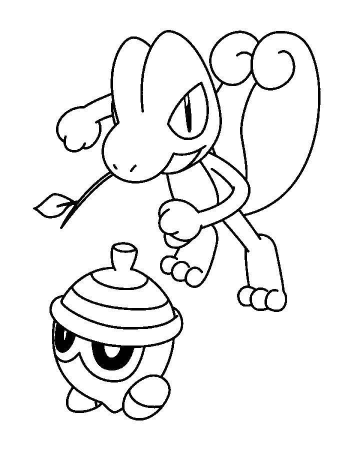 Раскраски покемон, Раскраска Покемон нидокинг покемоны.