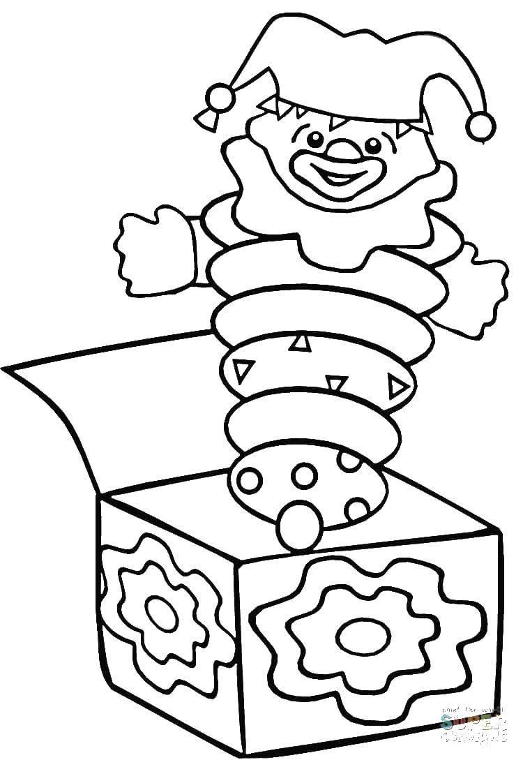 более, раскраска коробка с игрушками организации село бочкари