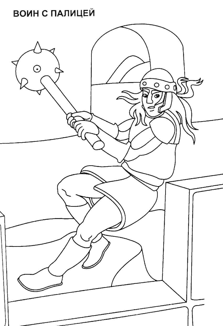 Coloring sheet the crusaders Download .  Print