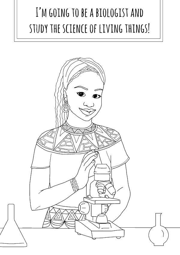 Coloring sheet profession Download The computer,.  Print