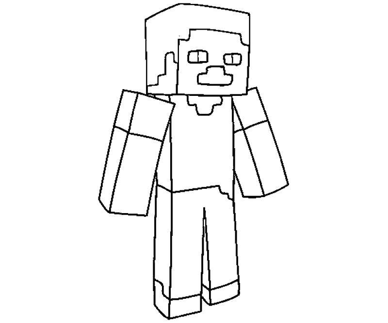 Coloring sheet minecraft Download Barbie .  Print ,Barbie ,
