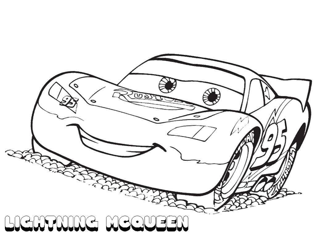 Coloring pages Cars Скачать .  Распечатать