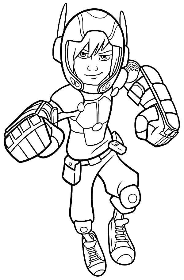 Coloring sheet city of heroes Download .  Print