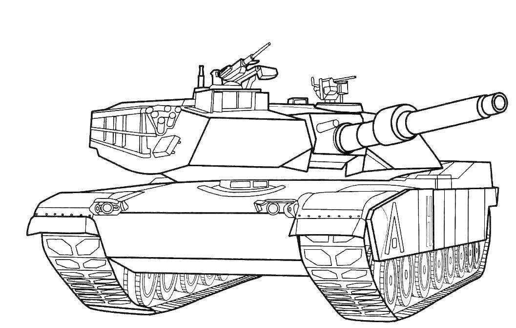 раскраска водяные танки