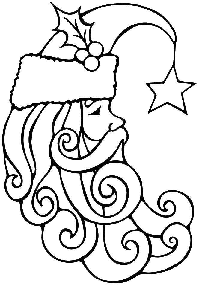 Coloring pages Christmas Скачать .  Распечатать