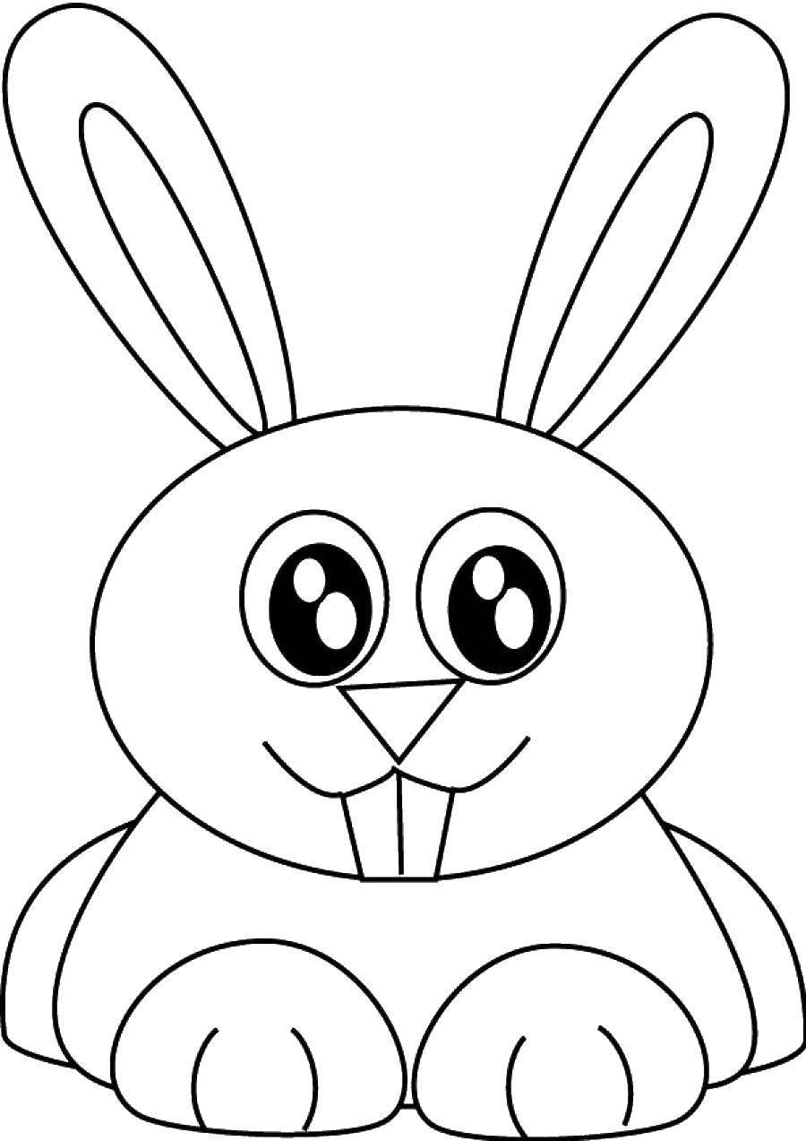 картинка раскраска заяц без ушей что самая выгодная