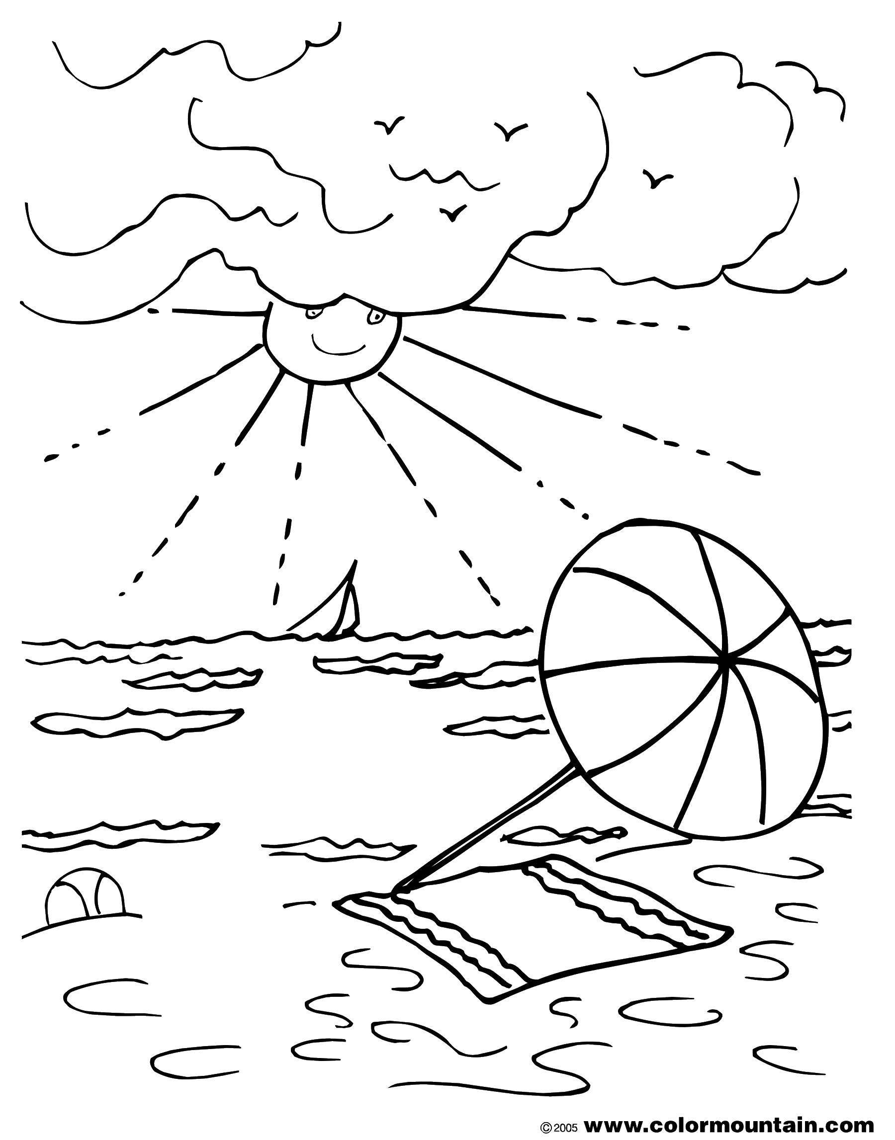 картинка для раскрашивания как я провел лето дореволюционные