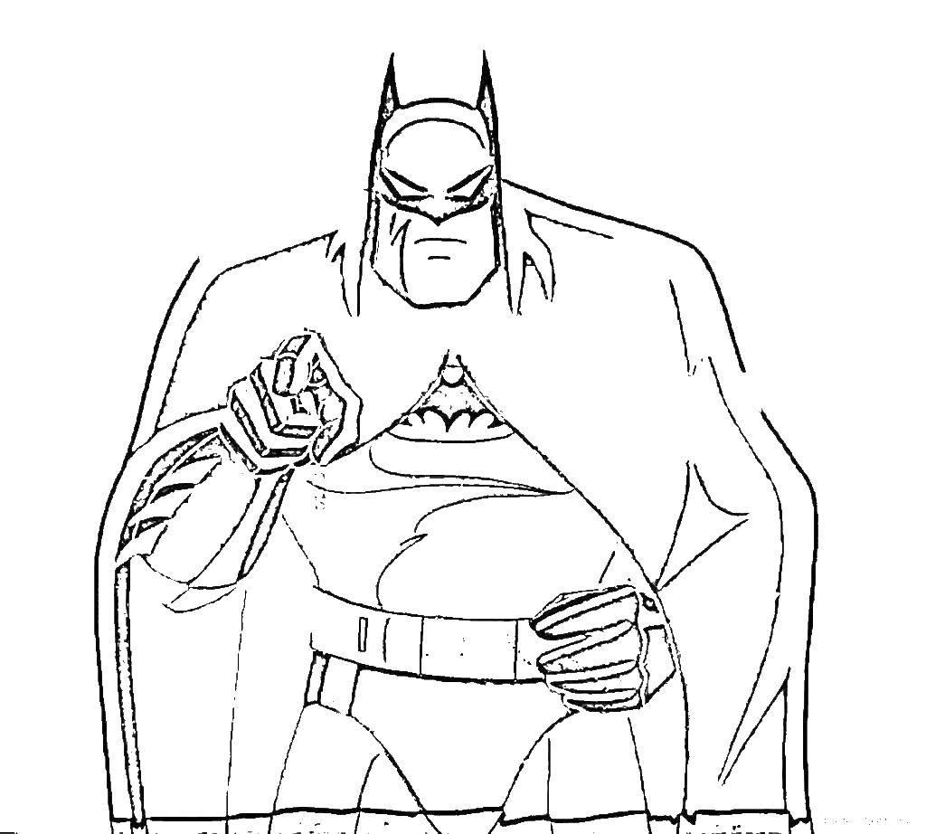 Раскраски полёте, Раскраска Супермен в полете супергерои.