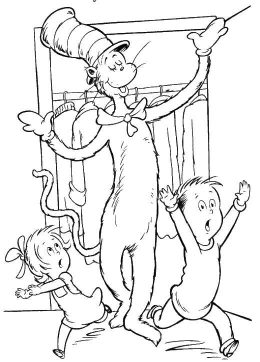 Coloring sheet cartoons Download the frog, the outline of lagowski.  Print ,The contours of animals,