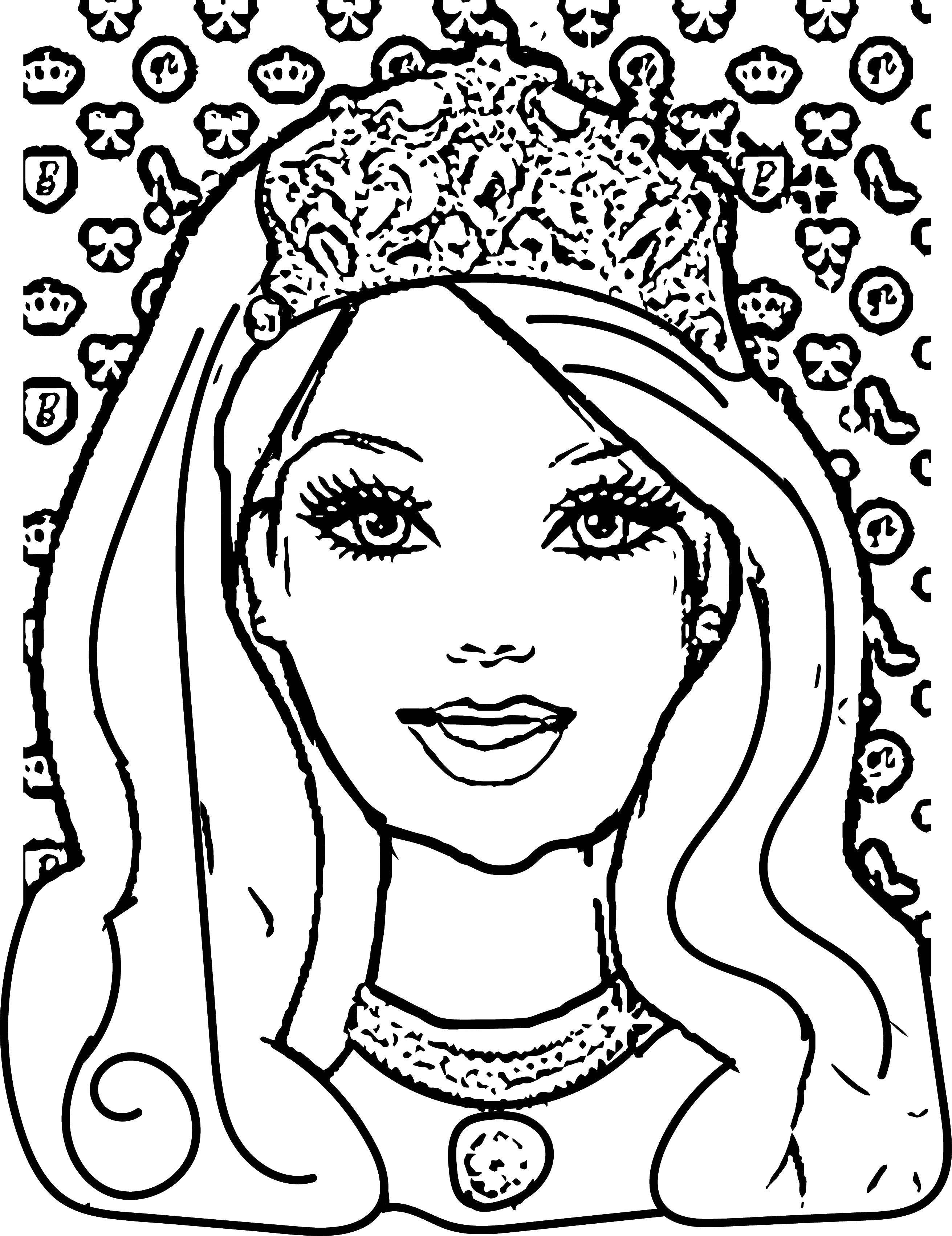 Раскраски барби, Раскраска Барби художница Барби.