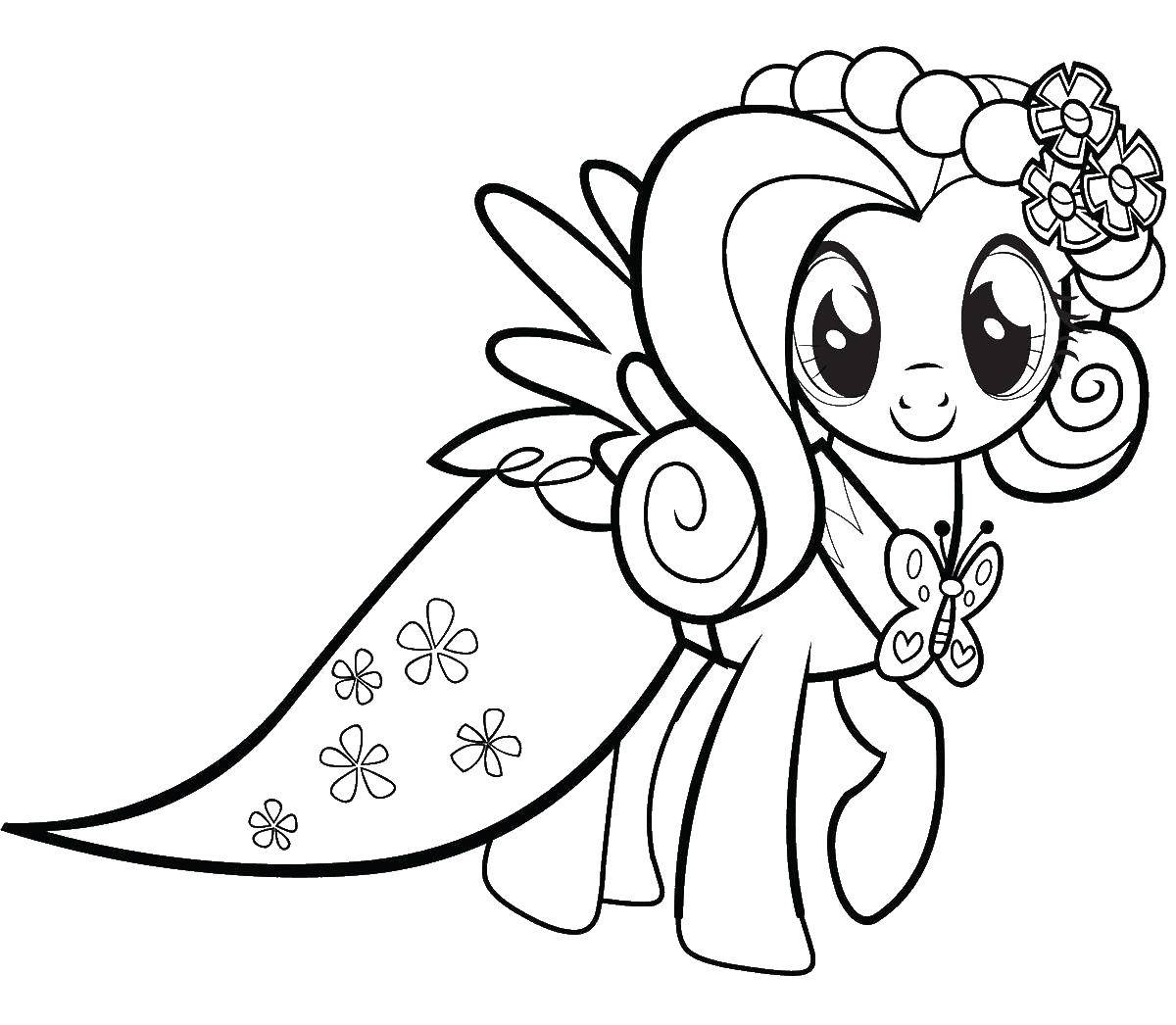 Coloring Fluttershy Download ,fluttershy, pony,.  Print