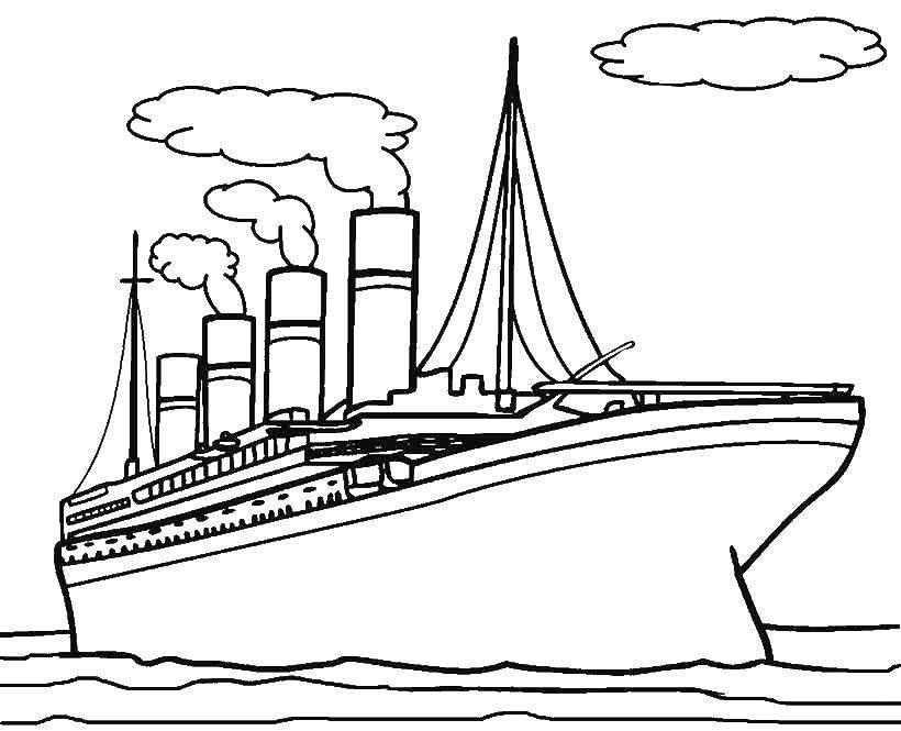Картинки лайнеров для распечатки