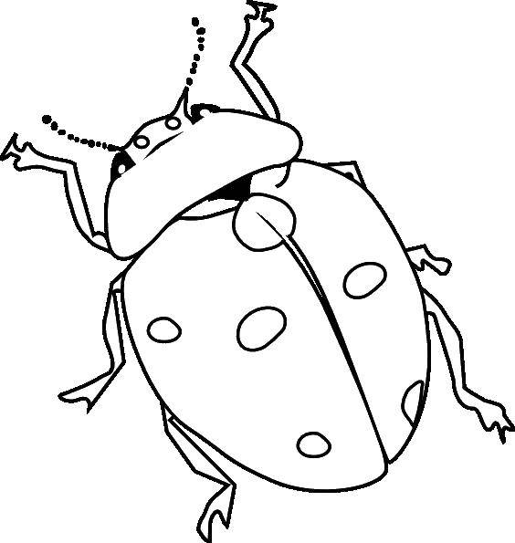 Coloring sheet Insects Download The alphabet, letters, words.  Print ,ABCs ,