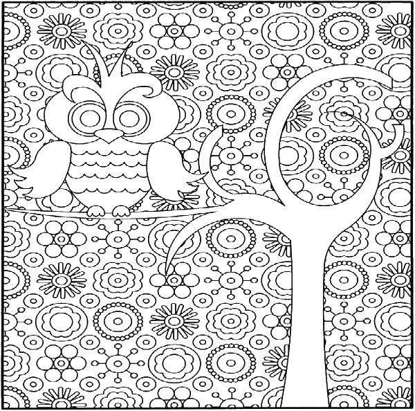 Раскраски Раскраска Слон в узорах узоры, скачать ...