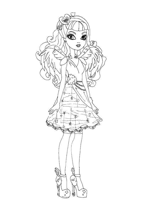 Coloring sheet Barbie Download .  Print