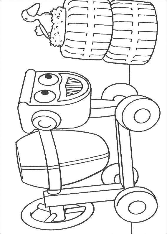 Coloring sheet Bob the Builder Download .  Print