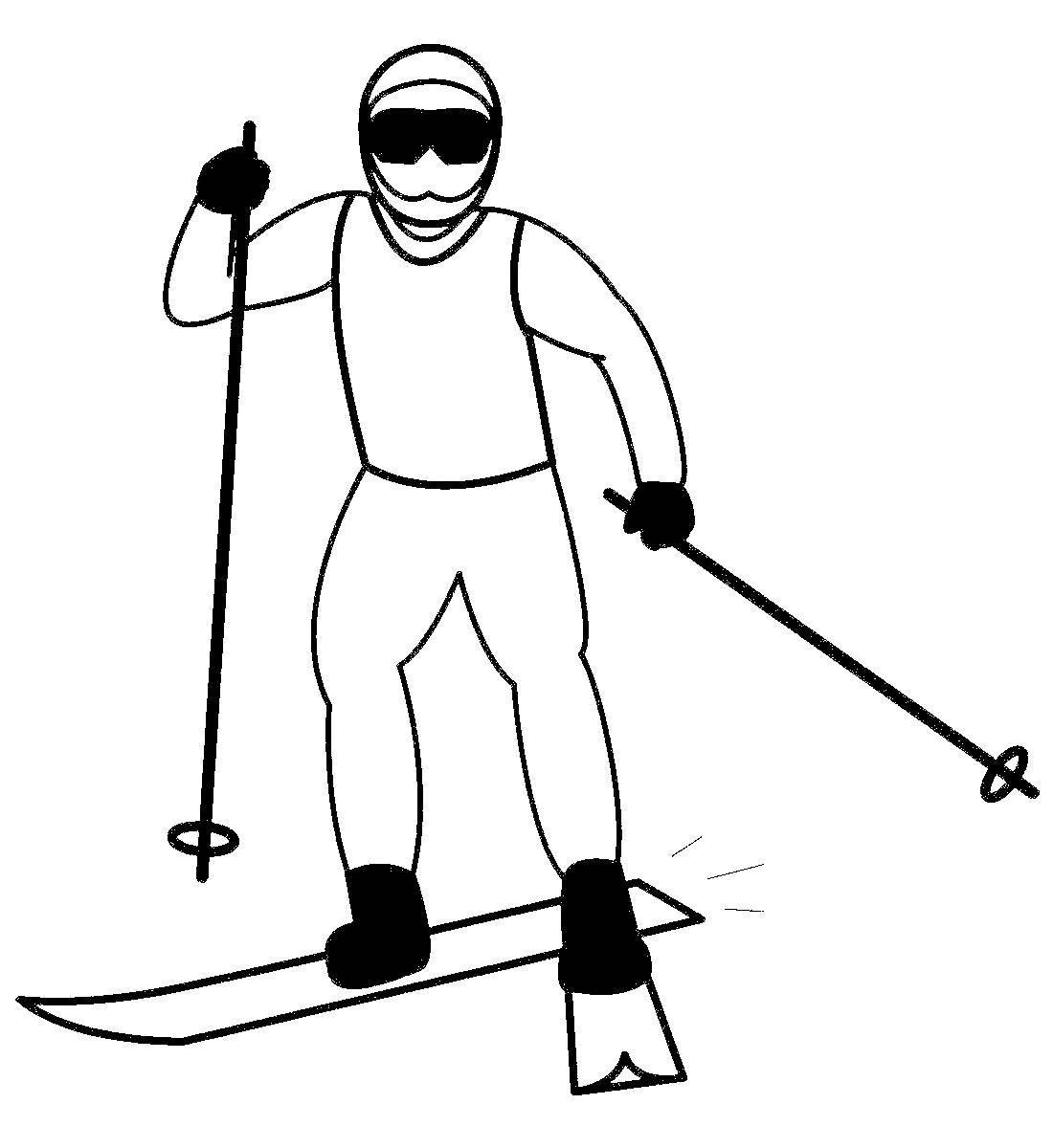 производителей рисунок вида спорта лыжи подпитывается