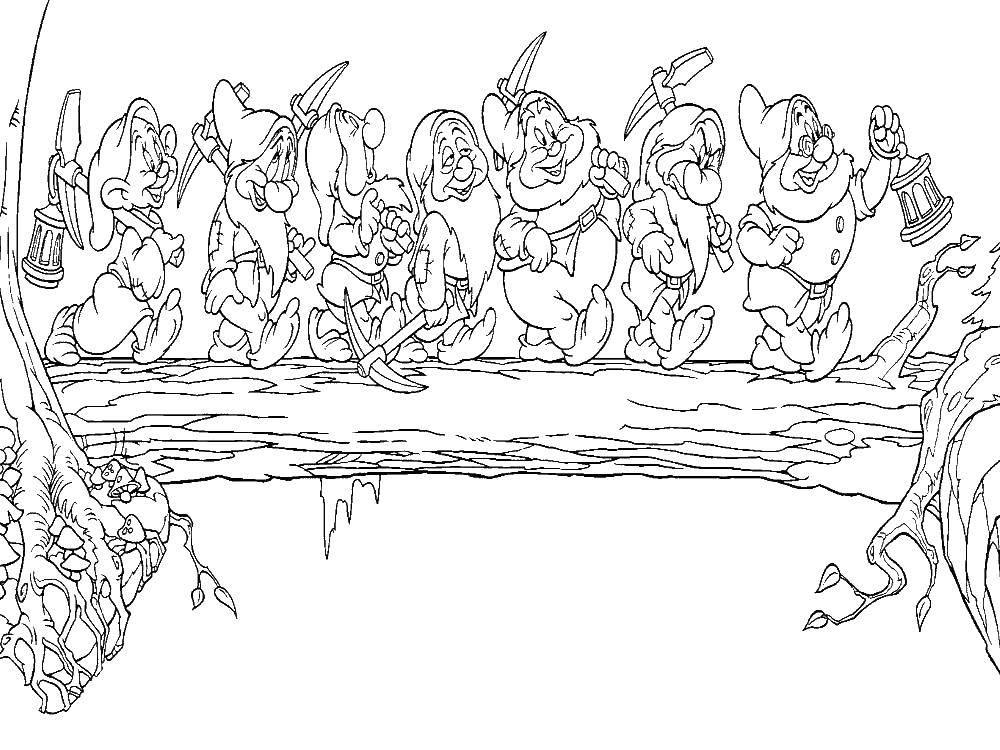 в пещере горного короля раскраска