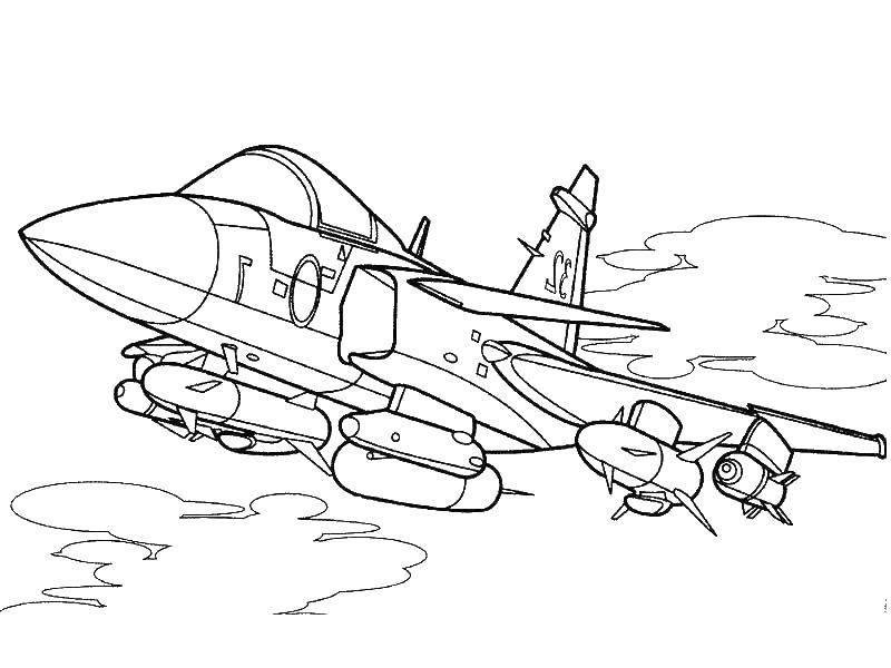 Картинки самолетов и танков раскраски
