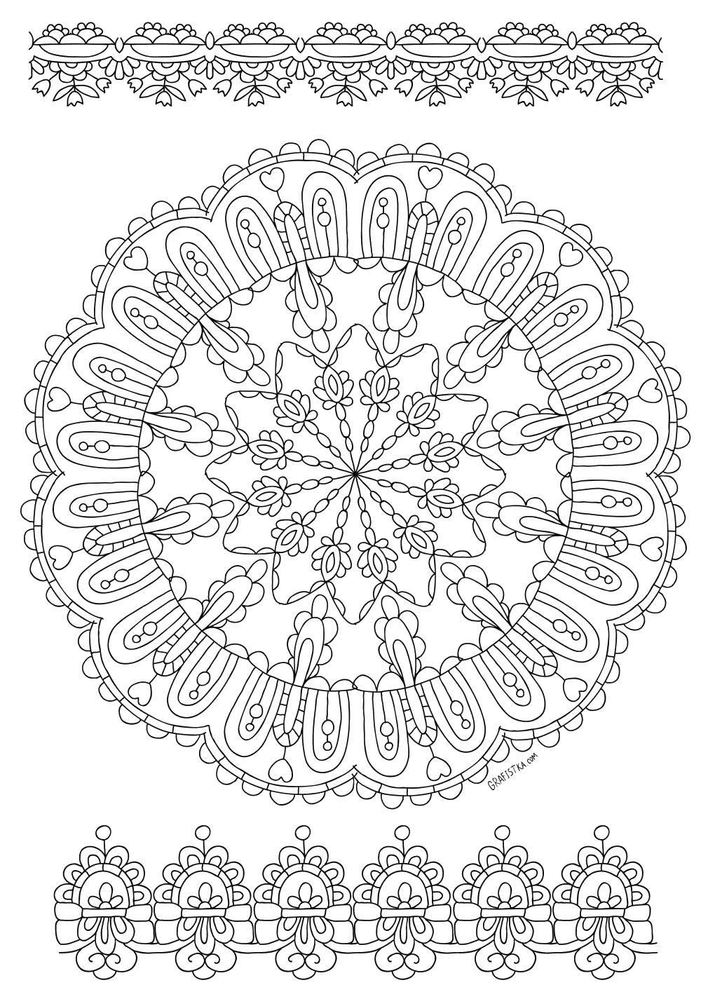 Раскраски узорный, Раскраска Узорный скорпион узоры.
