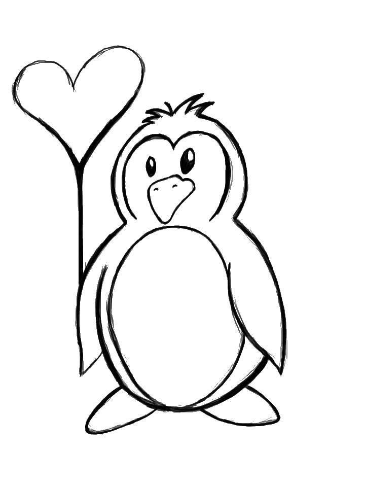 детям раскраска пингвинов распечатать исключено, что ряду