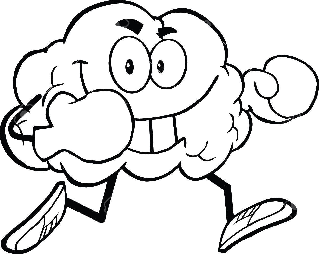 Раскраска Контуры из мультфильмов Скачать Персонаж из мультфильма.  Распечатать ,мультфильмы,